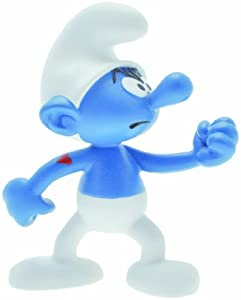 PLASTOY Collectable Figure Strong Smurf