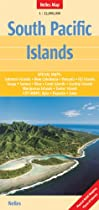 South Pacific Islands 1 : 13 000 000: Special maps of all major islands (English, French and German Edition)