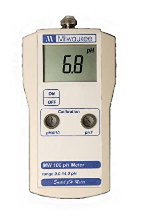 Milwaukee LED Economy Portable pH Meter with Calibration