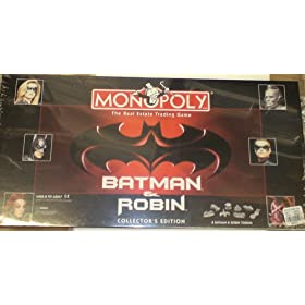 Batman and Robin Monopoly