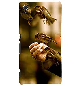 PRINTSWAG BIRD ART Designer Back Cover Case for SONY XPERIA Z4