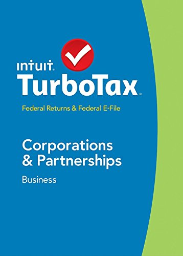 Turbo Tax Business 2014 CORPORATIONS & PARTNERSHIP, Estates & Trusts, Federal Returns & Federal E-File