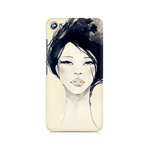 Mobicture Girl Abstract Premium Printed Case For Micromax Canvas Fire 4 A107
