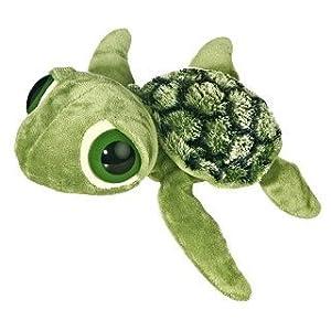 Aurora World Plush Dreamy Eyes Slide Sea Turtle
