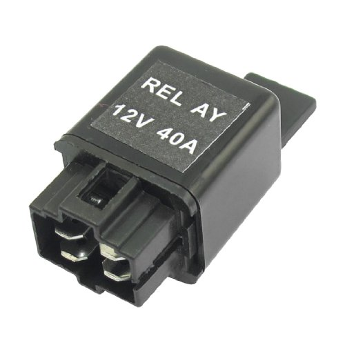 6.5Mm Mounting Hole Diameter Auto Vehicle Car Relay 4 Terminals No 12Vdc 40A