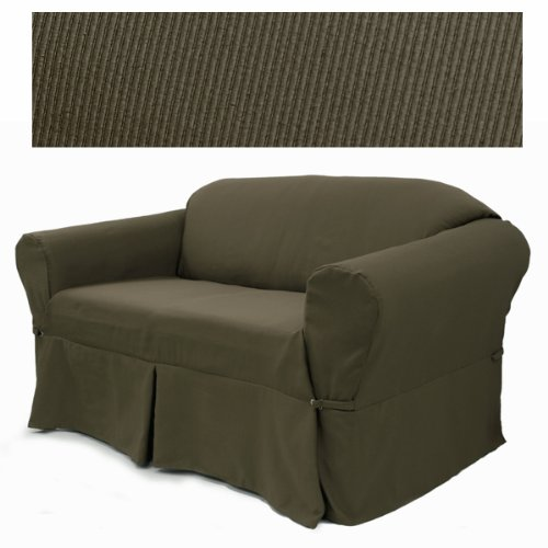Elegant Ribbed Cafe Furniture Slipcover Chair 634