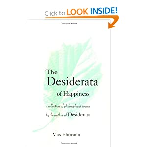 Lloyd Moss The Desiderata Of Happiness A Collection Of