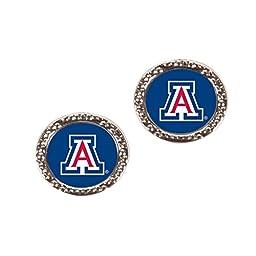 NCAA Arizona Wildcats Post Earring