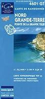 Top25 4601GT ~ Morne-a-l'Eau / Grande-Terre carte de randonnée avec une règle graduée gratuite