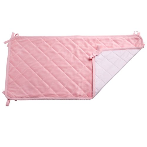 Nojo Coral Fleece Sheet Savers - Pink, Pack Of 2 front-863436