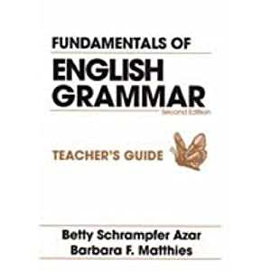 betty azar grammar book pdf