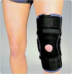 Hypercontrol Knee Brace. Size: L, Circumference 6 Patella: 20½-23 by Rolyn Prest