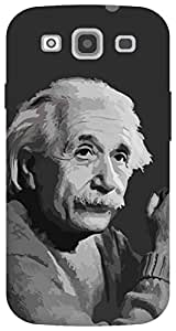 The Racoon Grip Albert Einstein hard plastic printed back case / cover for Samsung Galaxy S3 Neo