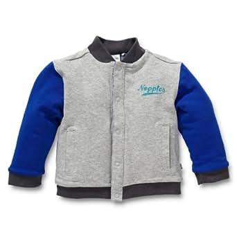 Noppies Baby - Jungen Weste 24405-Cardigan jersey rev. Horagai, Gr. 62, Grau (grey melange)