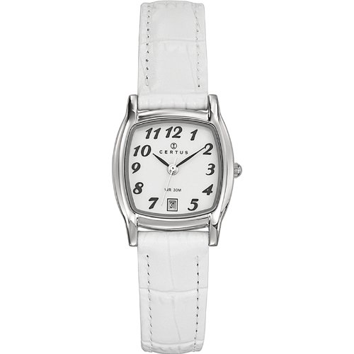Certus Ladies Wristwatch Quartz Analog White 644348