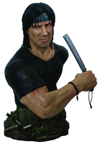 Hollywood Collectibles Rambo: 1:2 Scale Bust