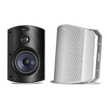 Polk Audio Atrium 6 Outdoor Speakers (Pair, White)