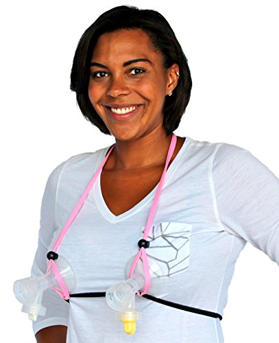 LactaMed Simplicity Hands Free Bra Kit - Pink