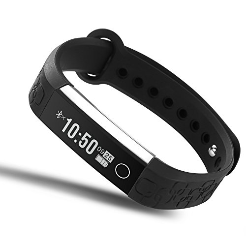 Heart Rate Smart Watch,AOKII Bluetooth 4.0 Waterproof IP67 Wireless Bracelet Activity Pedometer Fitness Tracker Wristband.