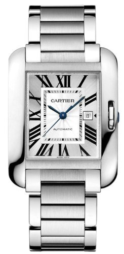 Cartier Tank Anglaise Unisex Wristwatch Model W5310009