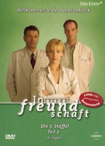 In aller Freundschaft - Die 07. Staffel, Teil 2, 18 Folgen [5 DVDs]