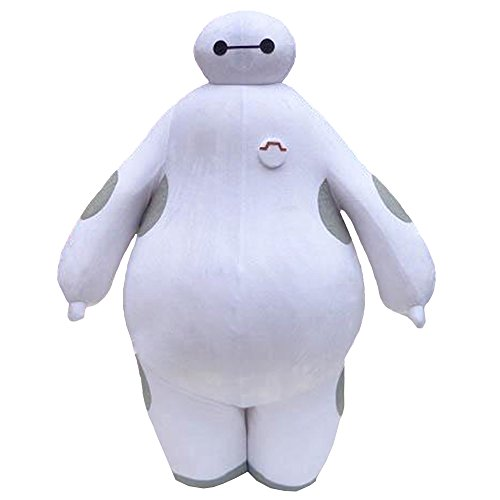 Big Hero 6 Baymax Mascot Costume Cospaly Cartoon Character Costume