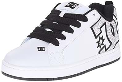 DC Shoes Men's Court Graffik Se Shoes White/White Print (Ww3) 6