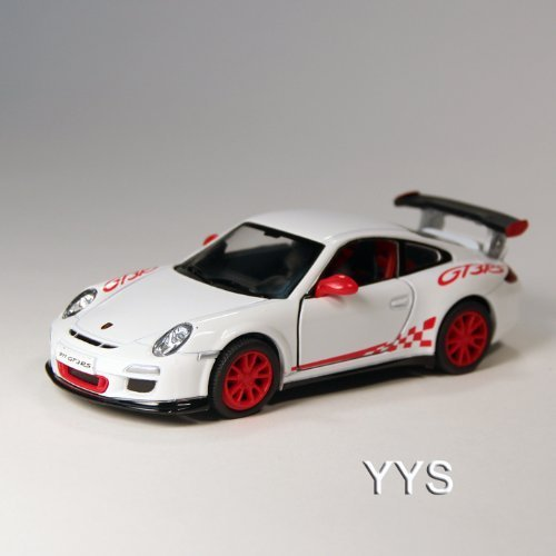 Porsche 911 GT3 RS Die Cast 1:36 Scale - White