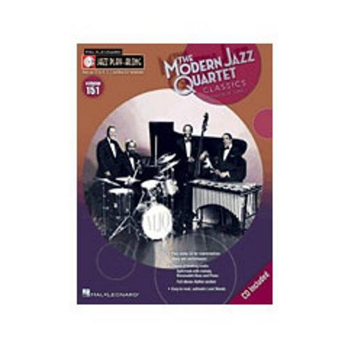 Hal Leonard Modern Jazz Quartet Classics-Jazz Play-Along Volume #151 (Book and CD)