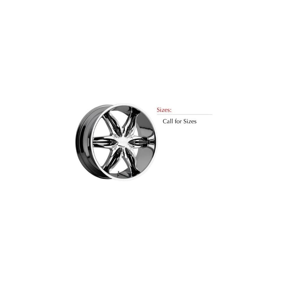 Viscera 778 28x9 Chrome Wheel / Rim 6x5.5 with a 35mm Offset and a 110.00 Hub Bore. Partnumber 778289655+35C