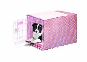Precision Pet Duvet Crate Cover for Size 3000 Crates, Pink