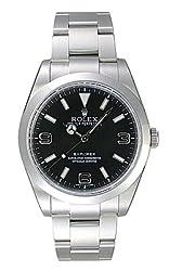 [ロレックス] ROLEX 腕時計 エクスプローラー1 214270 ブラック メンズ [並行輸入品]