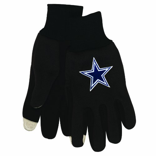 NFL Dallas Cowboys Technology Touch Gloves at Amazon.com