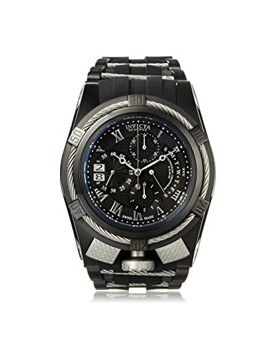 Invicta Men's 12675 Bolt Black/Grey Polyurethane Watch