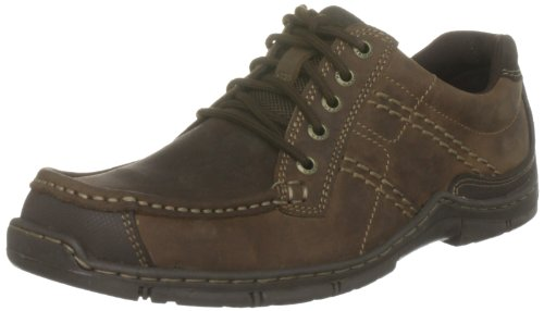 Hush Puppies Men's Latitude Brown Lace Up H13905023 8 UK