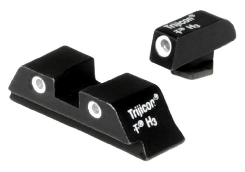 Glock Pistol 3 Dot Front And Rear Night Sight Set