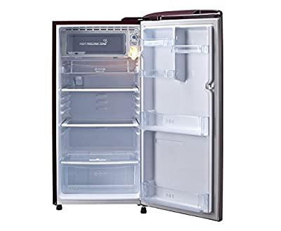 LG GL-B201ASHP.ASHZEBN Direct-cool Single-door Refrigerator (190 Ltrs, 4 Star Rating, Scarlet Heart)