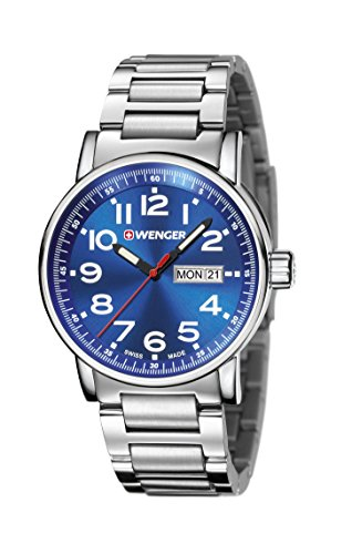 Wenger mens watch Attitude Day Date 01.0341.105