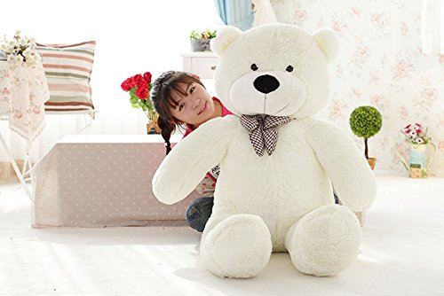 "40 inch Big Giant Teddy Bear Super Soft Animal Doll (40"" White)"