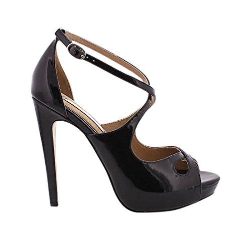 MARIA MARE Donna 66042 Abito scarpe nero Size: 38