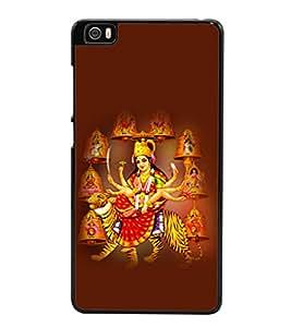 printtech Shera Wali Mata Goddess Back Case Cover for Xiaomi Redmi Mi5::Xiaomi Mi 5