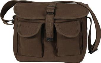 Ammo Shoulder Messenger Bag Brown 65