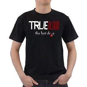 Buy True Blood Logo Art Design T-shirt Great Gift Ideas for Adults, Men, Boys, Youth, & Teens,... by Songsak