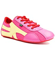 Rio Soul Womens Chiclete-pink and Yellow Size 9.5