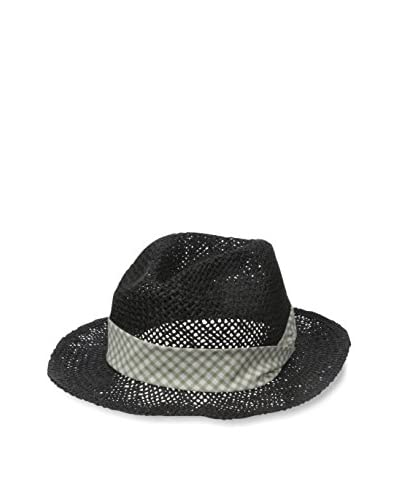 Rossovivo Men's Louis Hat, Black