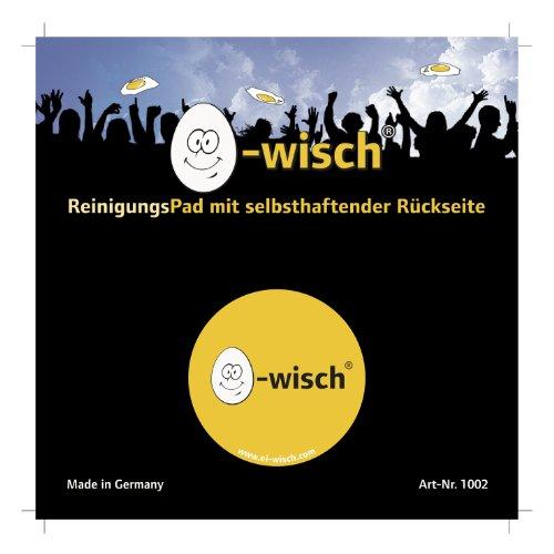uovo-wisch-pad-di-pulizia-in-microfibra-high-tech-cerotto-40-mm-di-diametro