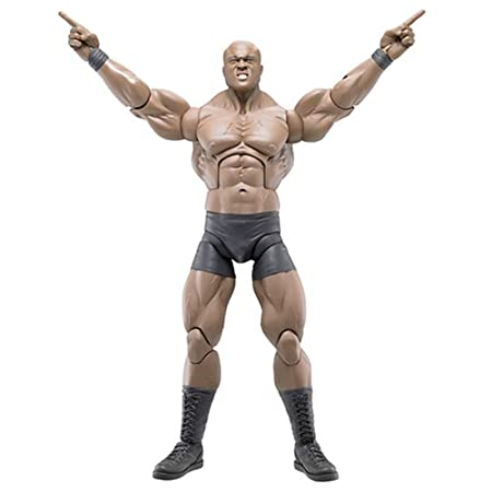 "Figurine Bobby Lashley serie 1 12"" maximum agression wwe"