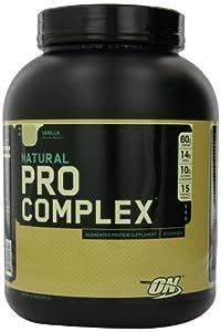 Optimum Nutrition Natural Pro Complex, Vanilla, 4.6 Pound