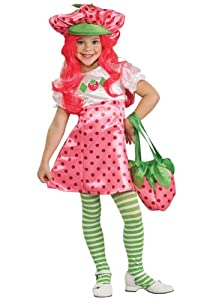 Girl's Deluxe Strawberry Shortcake Costume by Rubies - Domestic
