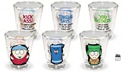 South Park 3 pc Shot Glass Set